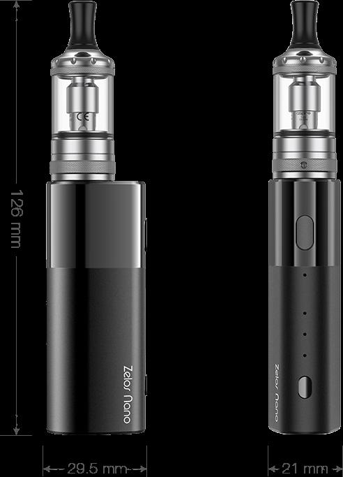 Cigarette electronique Zelos Nano par Aspire   Cigusto   Ecigarette pour vapoteur débutant